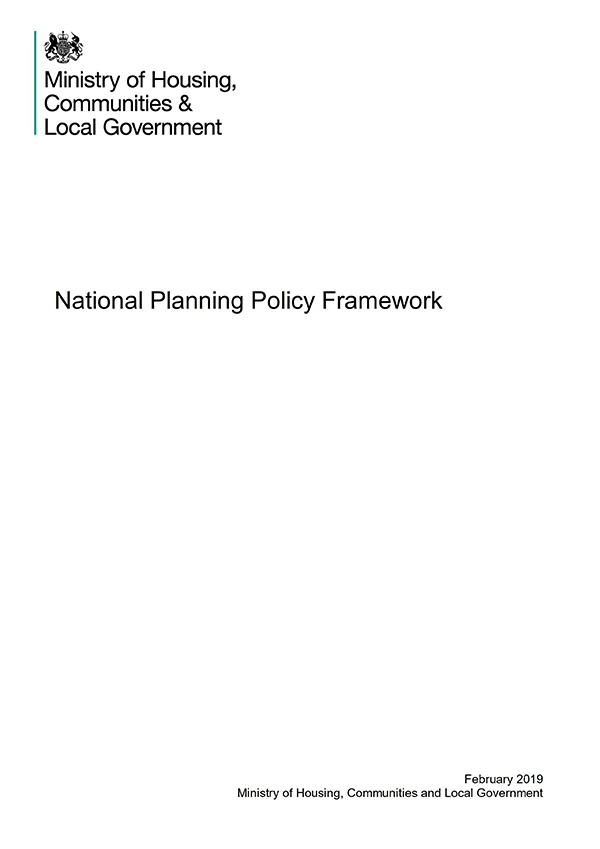 National Planning Policy Framework guidelines