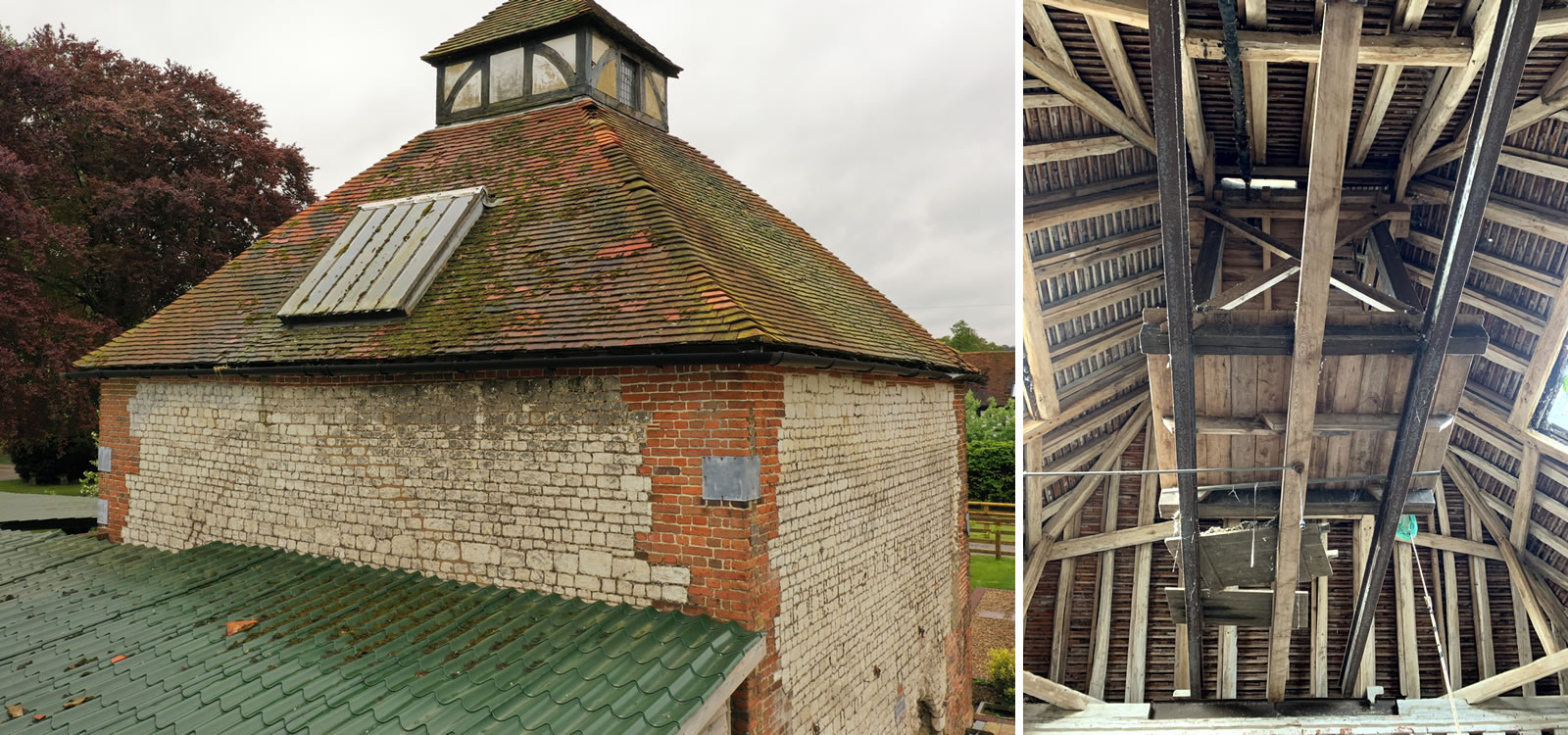 Grade II listed survey of a Dovecote in Cookham