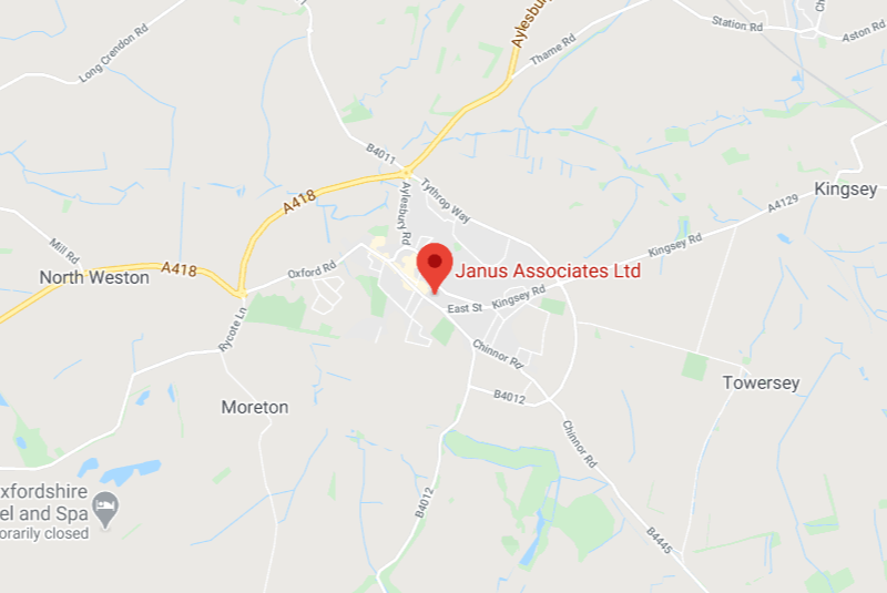 Thame office map