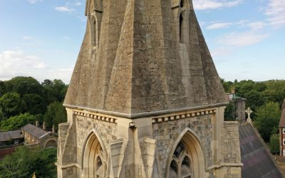 Tower Inspection of St George's Church, Hanworth, London – Grade II* Listed