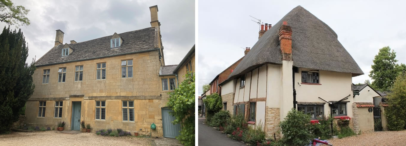 Heritage statements on grade II listed buildings in Bucks and the Cotswolds